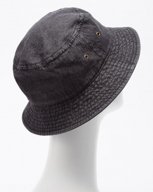 BLACK B:EMB DENIM HAT見る