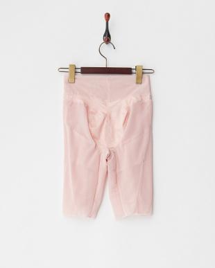 ピンク メリハリはんもっくガードル見る