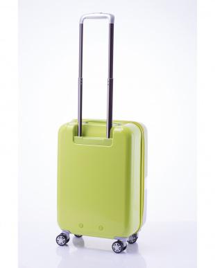 ライトグリーン 軽量ジッパースーツケース Sを見る