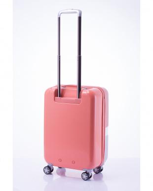 ピンク 軽量ジッパースーツケース Sを見る