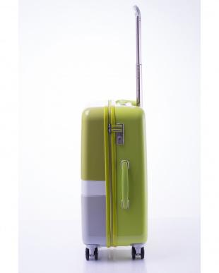 ライトグリーン 軽量ジッパースーツケース Mを見る