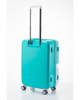 ペパーミントブルー 軽量ジッパースーツケース Mを見る