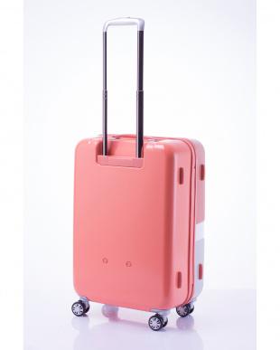 ピンク 軽量ジッパースーツケース Mを見る