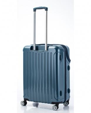 ブルーカーボン トップオープンスーツケース Mを見る