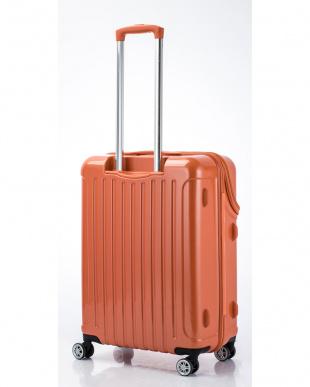 オレンジカーボン トップオープンスーツケース Mを見る
