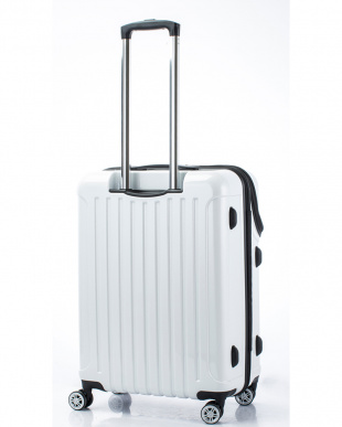 ホワイトカーボン トップオープンスーツケース Mを見る