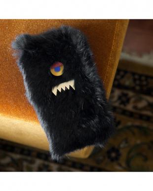 ブラック モンスターファーiPhoneケースを見る
