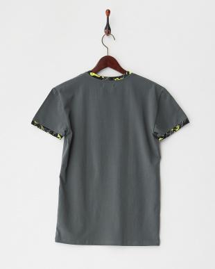 Mグレー カモフラージュ柄リラクシングTシャツを見る