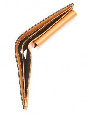ブラック クレイトン社製ブライドルレザー2つ折り財布を見る