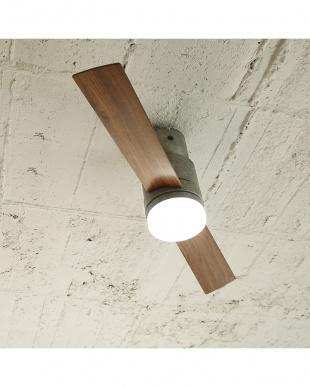 グレー Modern Collection LEDシーリングファン 2 blades styleを見る