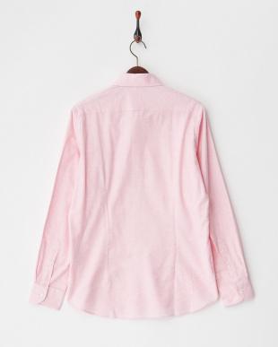 ピンク フランネル調シャツ MEN見る