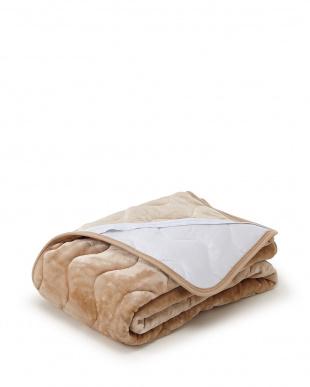 ベージュ 発熱効果で心地良い眠り あったか敷きパッド シングルを見る