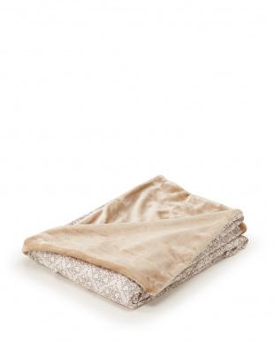 ベージュ 発熱効果で心地良い眠り あったか掛けふとんカバー シングルロングを見る