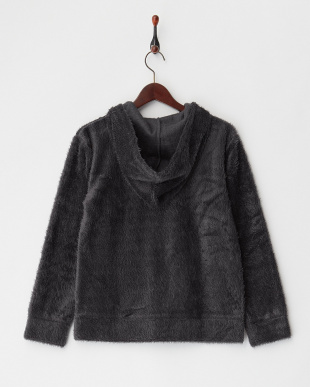 GYD SHAGGY KNIT ZIP HOODYを見る