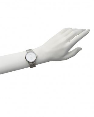 白 白×シルバー LW37 腕時計|WOMENを見る
