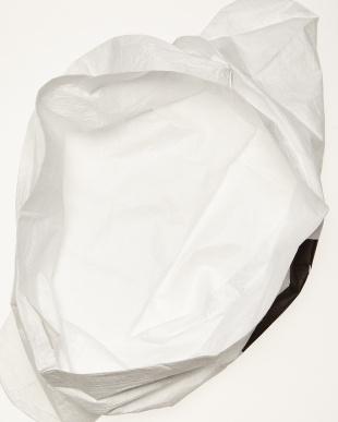 ホワイト ホワイト タイベック製エコバッグ見る