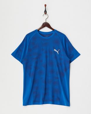 LAPIS BLUE EVOKNIT カモグラフィック Tシャツ見る