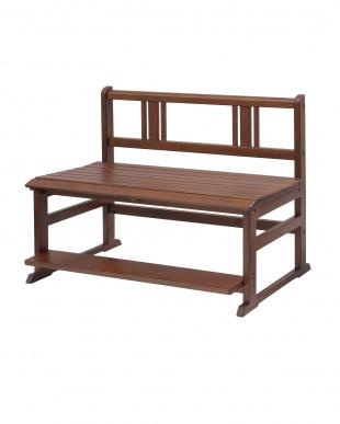 ブラウン School Bench|noteco見る