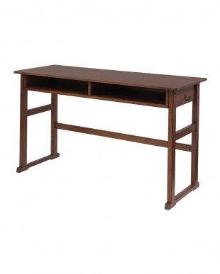 ブラウン School Desk2P 幅100cm|notecoを見る
