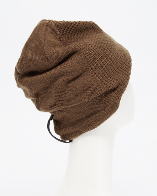 BROWN マニエラ3D BEANIE SP│MEN見る