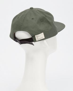 OLIVE/OD B:MIL 6PANEL CAP見る
