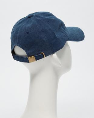 DRK/NAVY B:P/DYE 6PNL CAP見る