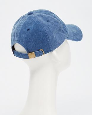 NAVY B:P/DYE 6PNL CAP見る