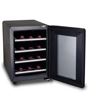 ブラック×シルバー siroca 12本収納ワインセラーを見る