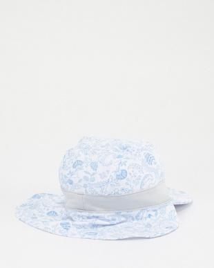 ブルー KIDS プリントネックカバー CAP│UNISEXを見る