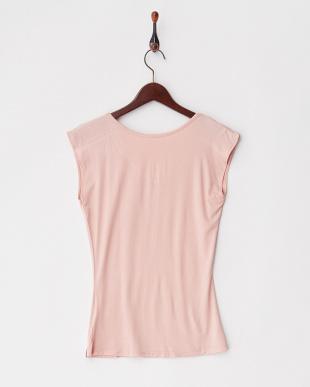 ピンク ヨガTシャツ見る