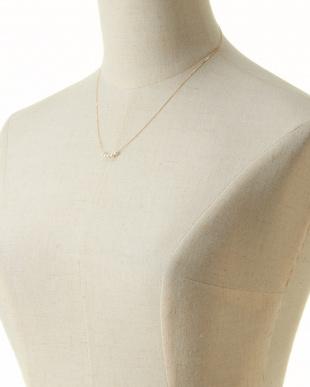 K18YG ベビーアコヤパール デザインネックレスを見る