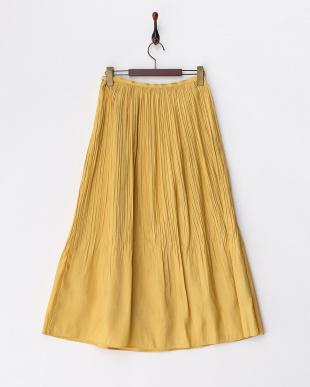 イエロー シャイニーロングスカートを見る