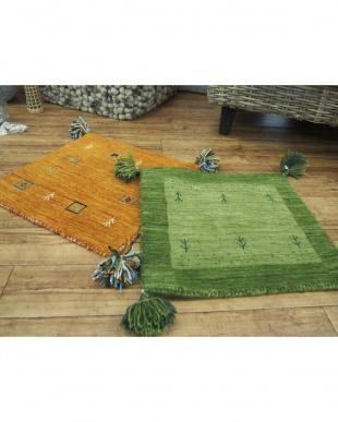 L4オレンジ LORRI BUFFD  クッションカバー45×45cmを見る