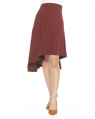 WINE SKIRT WASHED MAROCAINEを見る