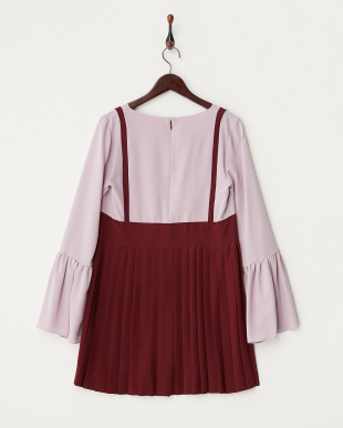 WINE L/S TUNIC WASHED MAROCAINEを見る