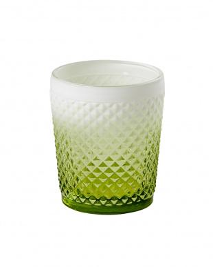 グリーン Faceted グラスタンブラー2個セットを見る