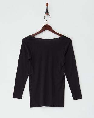 BK 甘撚綿100% 8分袖シャツを見る