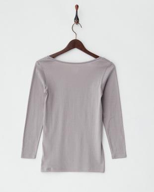 GR 甘撚綿100% 8分袖シャツを見る