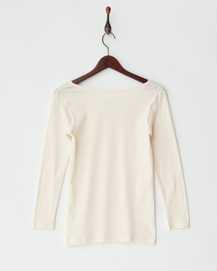 LBE 甘撚綿100% 8分袖シャツを見る