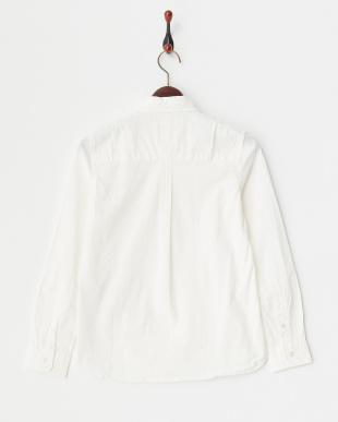 ホワイト ATV-207 綿/PUポプリン製品染めシャツ見る