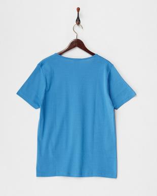 MT11/VAGUE LT403 JEAN BP 胸ポケット付きVネックTシャツを見る
