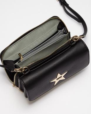 Black スターメタル3WAYお財布ショルダーバッグを見る