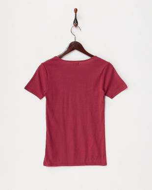 ウォームレッド カラダ温暖化 ストレッチコットン 半袖シャツ見る