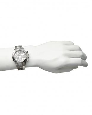 シルバー/ブラック/ブラック 機械式腕時計 003 MENを見る