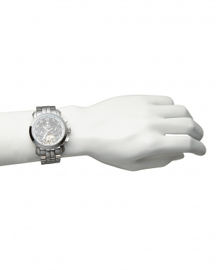 ブラック/ブラック 機械式腕時計 008|MEN見る