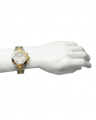 ゴールド ダイヤ付き機械式腕時計 014|MEN見る