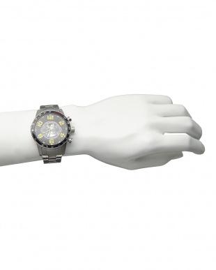 イエロー 機械式腕時計 020|MENを見る