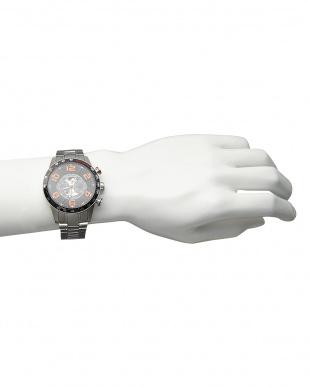 オレンジ 機械式腕時計 020|MENを見る