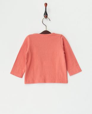 レッド 甘撚天竺 レースベビーL/S Tシャツを見る