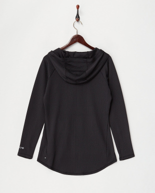 True Black Women's Crystal Pullover Hoodie見る